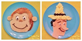 Kitchen Fun With My 3 Sons: Curious George & The Man in the Yellow Hat Breakfast!