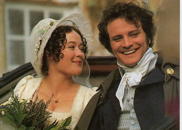 Pride and Prejudice... Best version EVER!  I can watch it over and over, even if it IS 5 hours!