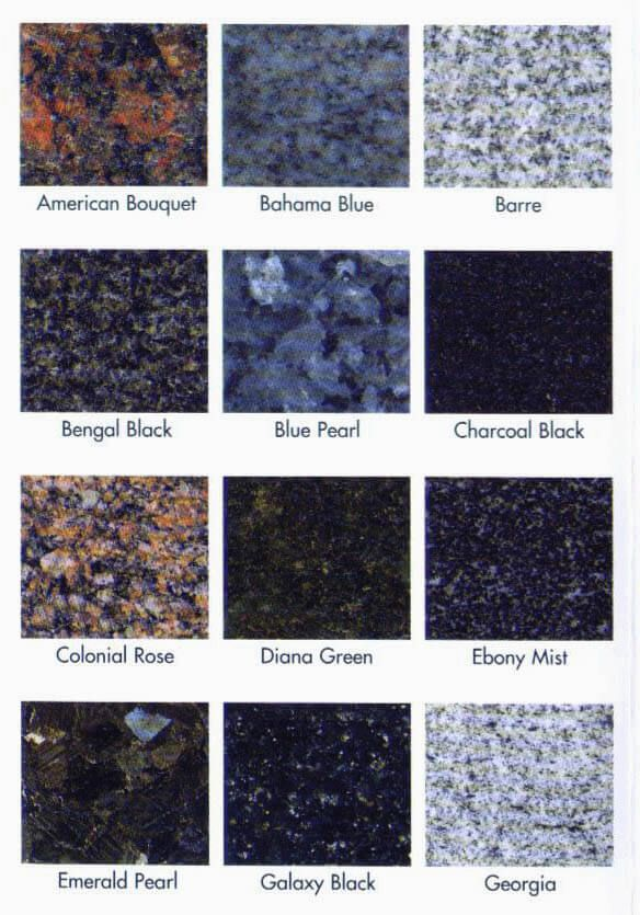 Detroit Granite Colors Available Granite Colors Granite