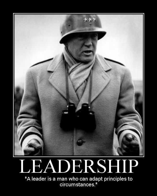 Motivational Posters: George S. Patton on Leadership