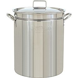Bayou Classic 44-quart Stainless Steel Stockpot with Lid - Overstock™ Shopping - The Best Prices on Bayou Classic Grilling Tools & Cookware