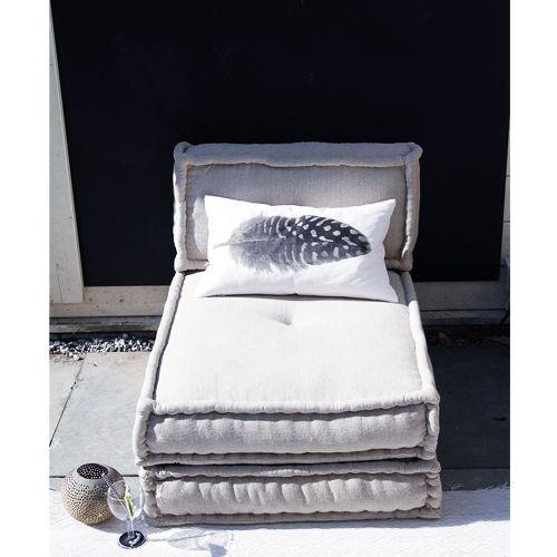 Matraskussens lounge tuin
