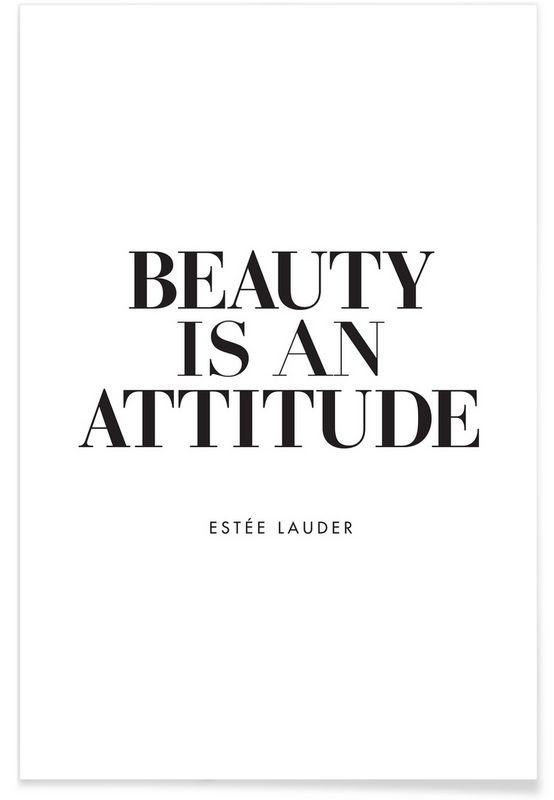 Beauty Is als Premium Poster von THE MOTIVATED TYPE | JUNIQE https://www.juniqe.de/beauty-is-premium-poster-portrait-1647436.html