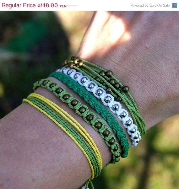 hand made strings bracelets