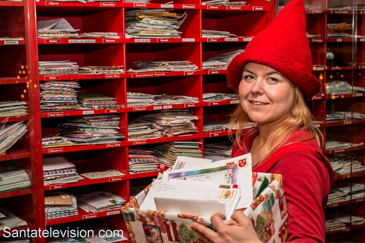 Des lettres au Père Noël à Rovaniemi en Laponie