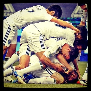 #Vancouver Whitecaps celebrate their winning goal Saturday at BC Place (Les Bazso, PNG). #MLS #soccer #instagram #pinstagram