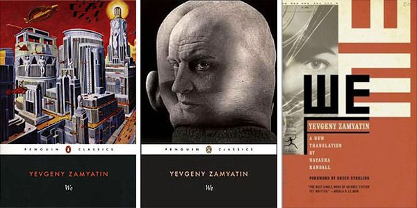 Zamyatin's WE is one of the most interesting books I've read so far. Perfect dystopia on theme of Soviet Union.