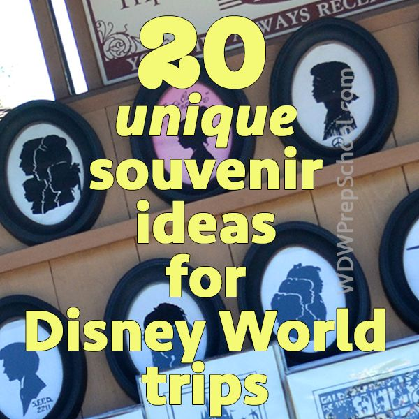 20 unique Disney World souvenir ideas. Some really cute ideas here. I love the pick a pearl, the stuffed treasure chest or jewelry box, the World Showcase Passport and the personalized t-shirts.