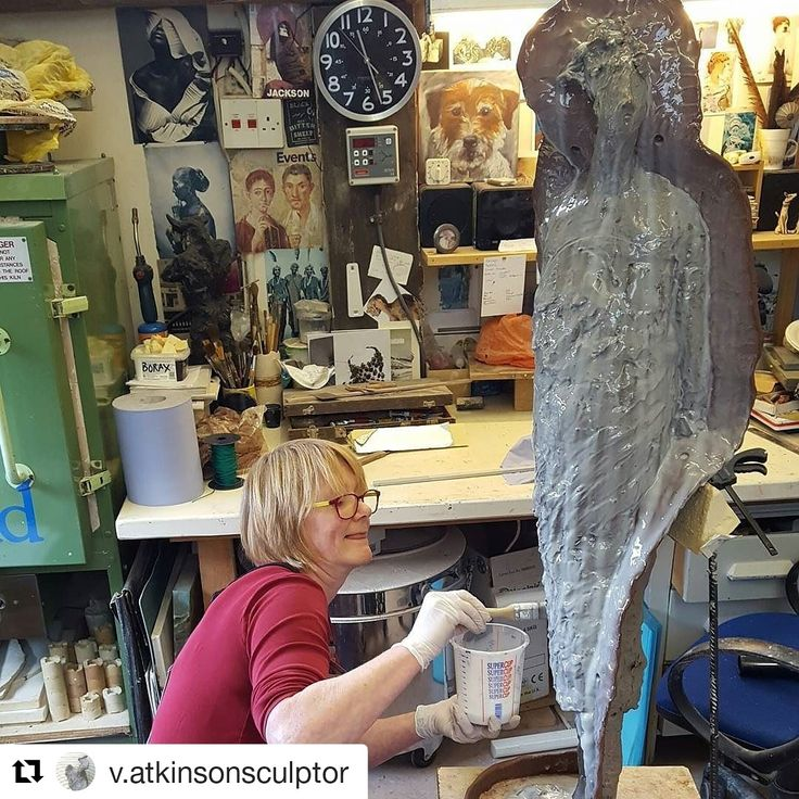 "#marchmeetthemaker - our very own Vicki Atkinson #Repost from Instagram ... ""Casting today. Always scary!"""