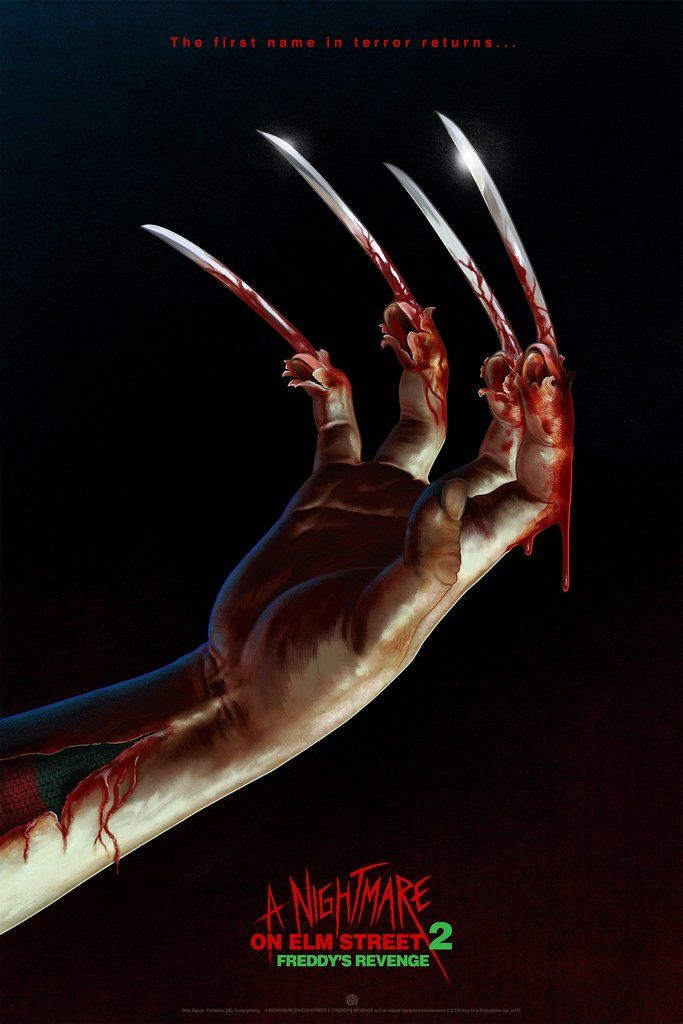 A Nightmare On Elm Street 2 Freddy S Revenge Nightmare On Elm Street A Nightmare On Elm Street Alternative Movie Posters