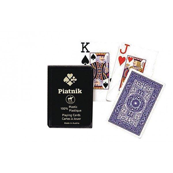 Piatnik plasztik póker kártya nagy indexes, műanyag dobozos - Reflexshop