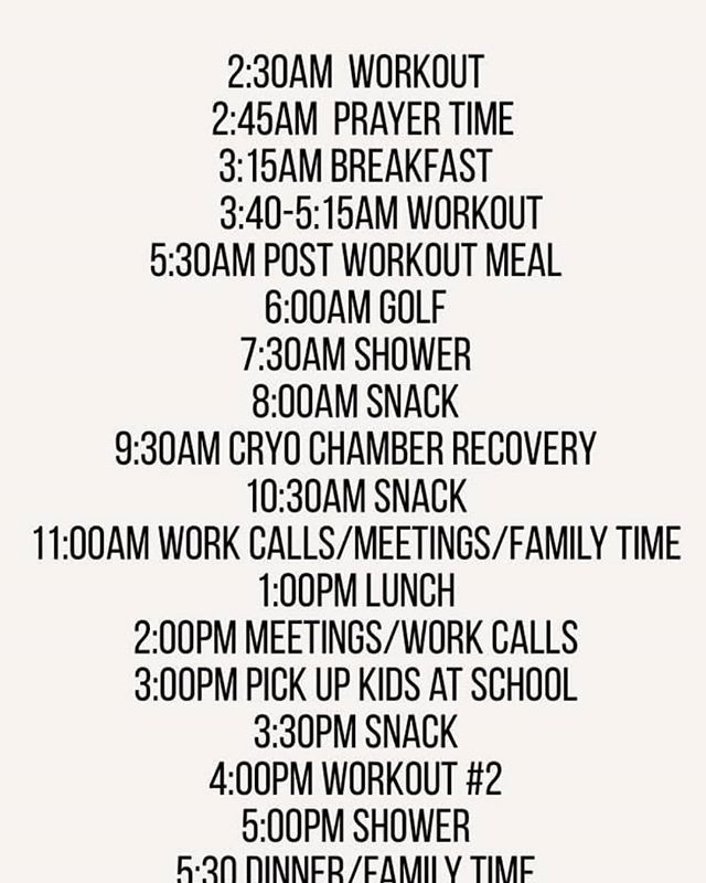 check out mark walhberg s schedule li fb markwahlberg schedule