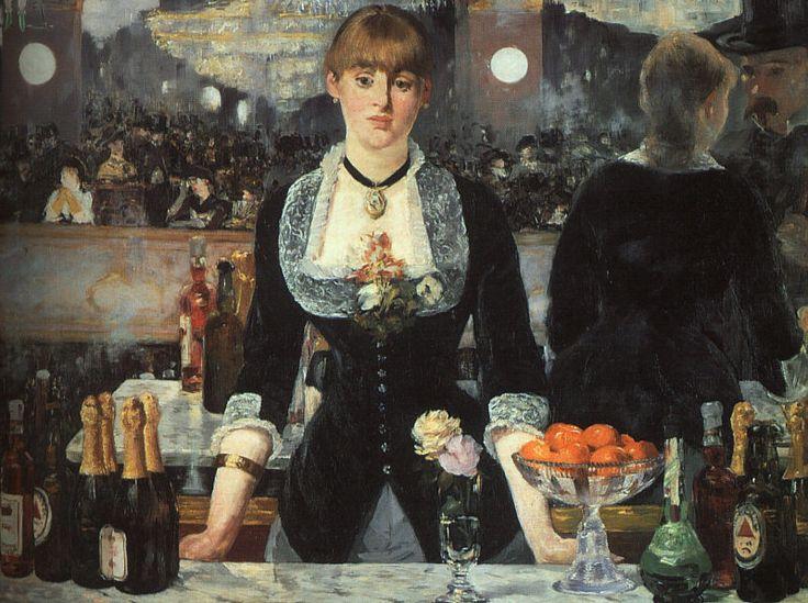 Un bar aux folies bergères- Edouard Manet - 1881