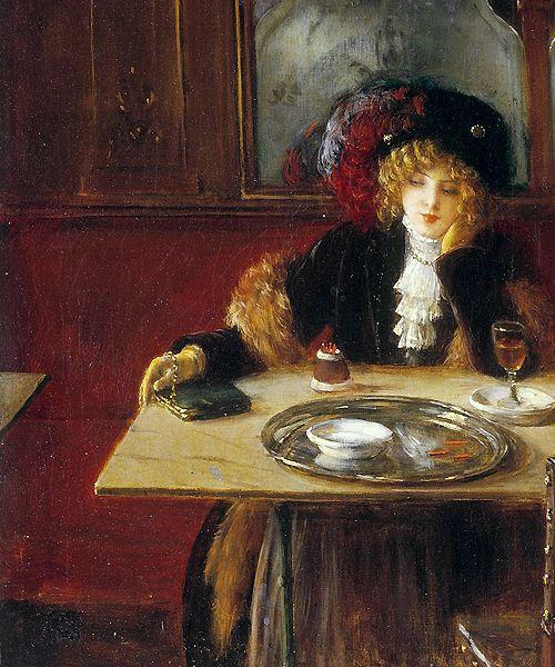 Jean Beraud - Absinthe Drinkers