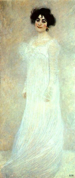 Gustav Klimt. Portrait of Serena Lederer 1899