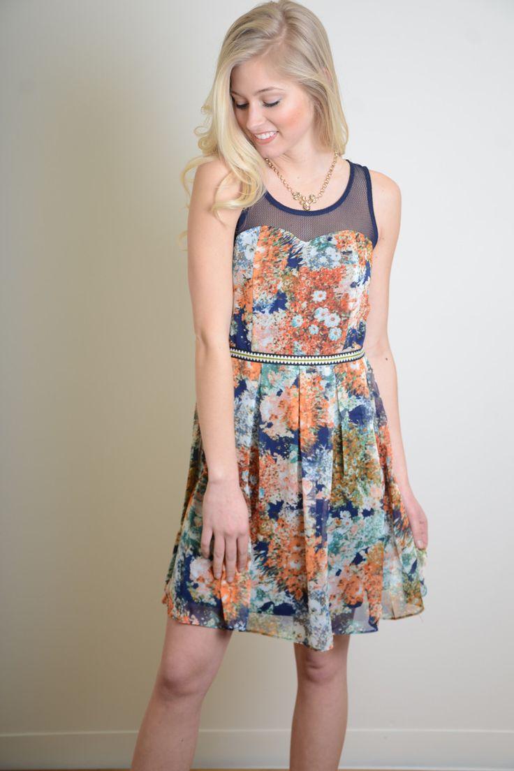 Fashionable mystree dress blocked