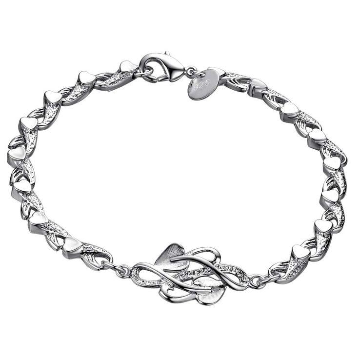 Просто мода топ Дизайн Оптовая серебрение браслет, посеребренные ювелирные изделия/JGVANSKI DGHEPSIKкупить в магазине yinfen guo's storeнаAliExpress