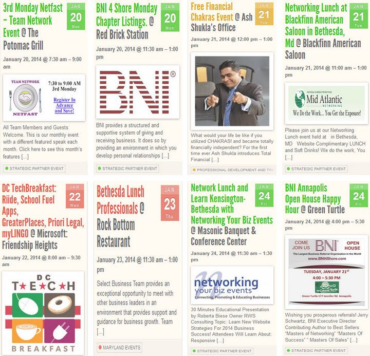 We started pinning featured events on this board every week. Information regarding networking events, workshops, technology events, seminars, trade sh…