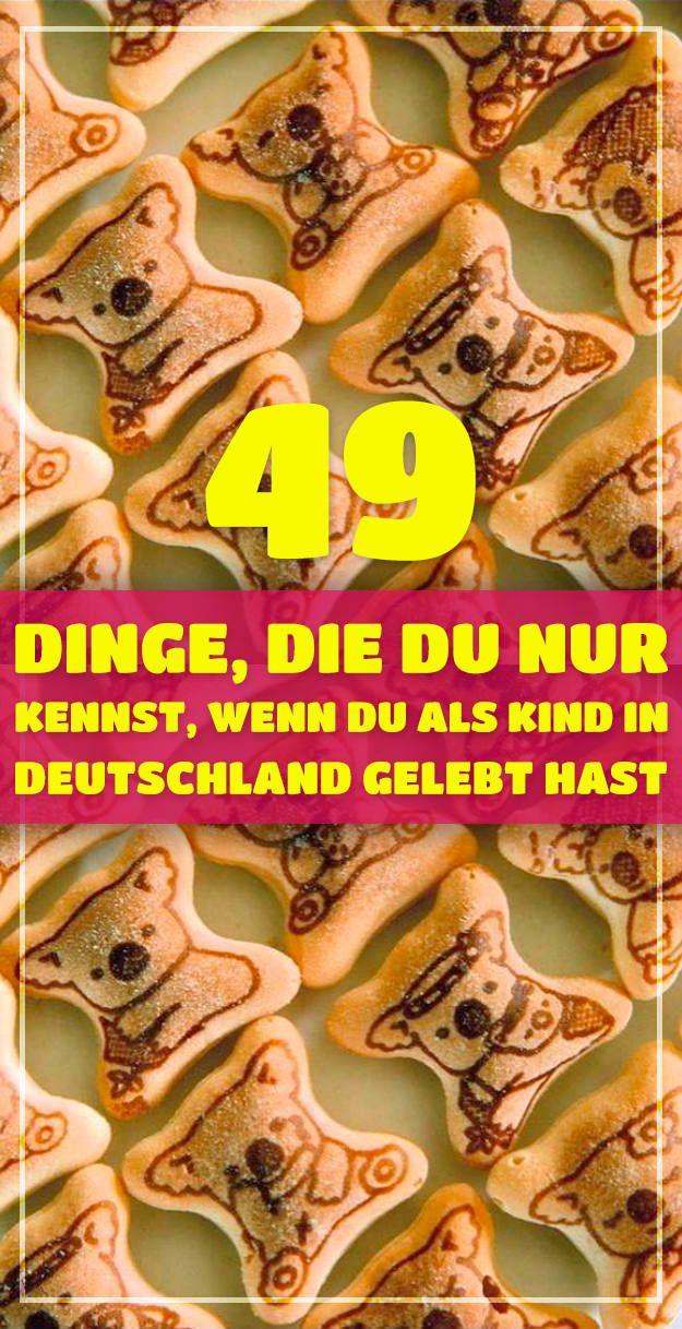 49 Dinge, die du nur kennst, wenn du als Kind in Deutschland gelebt hast