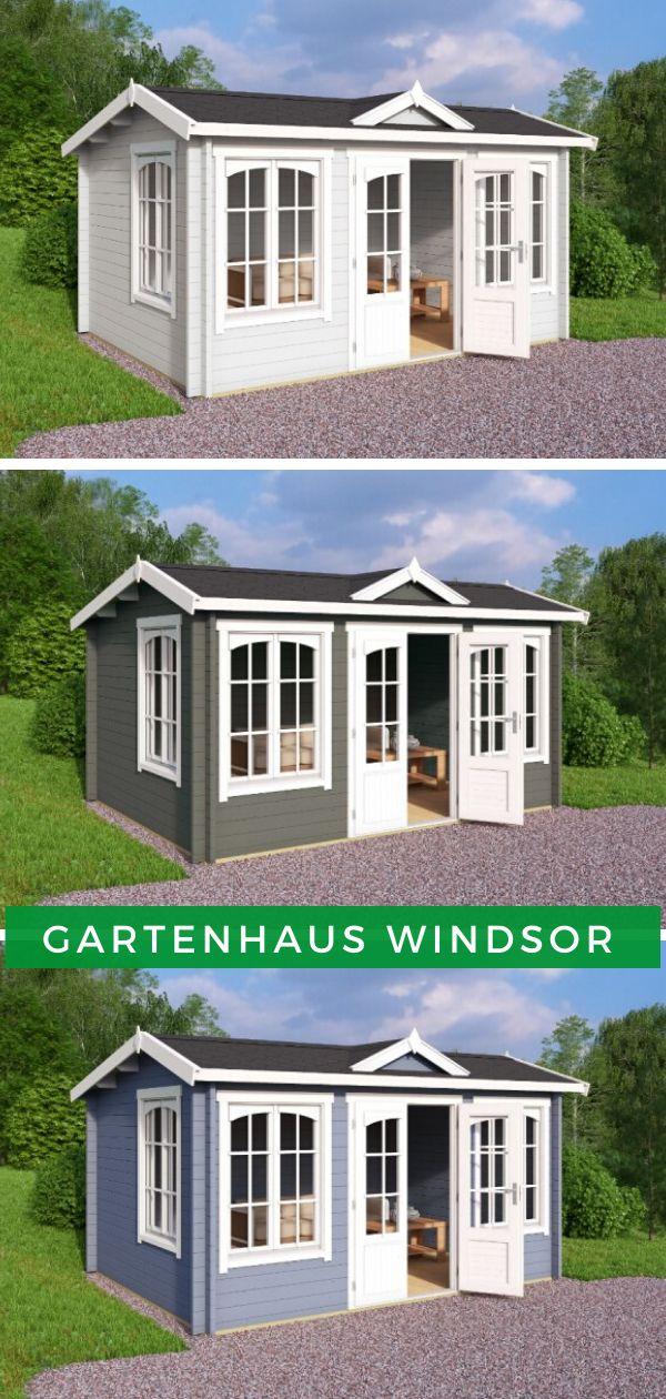 Lasita Maja Gartenhaus Windsor ISO 4415240 in 2020