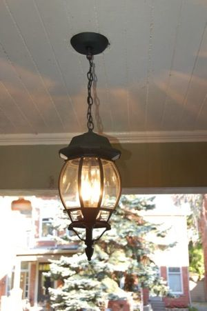 Front Porch Light Fixtures   New Dining Room and front porch lighting 247reno.ca - a Toronto home ...