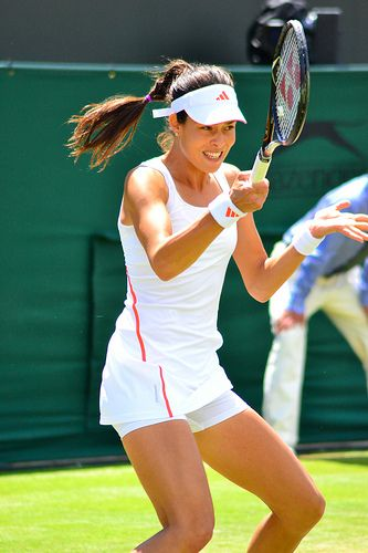 Wimbledon 2012: Ana Ivanovic vs. Julia Georges (30 June 2012)
