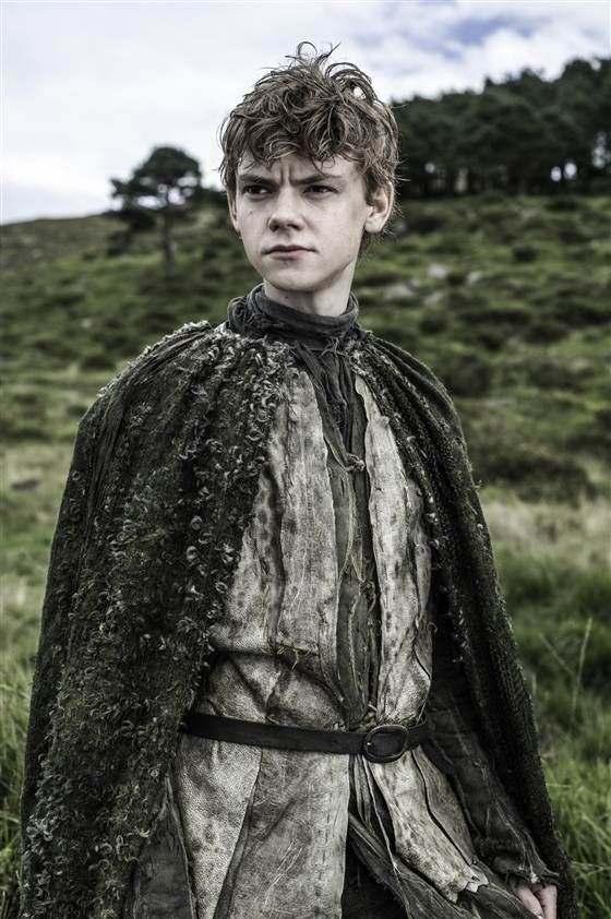 Thomas Brodie Sangster plays Jojen Reed. I'm really glad he's 23 so I'm not a pedophile for thinking he's cute.