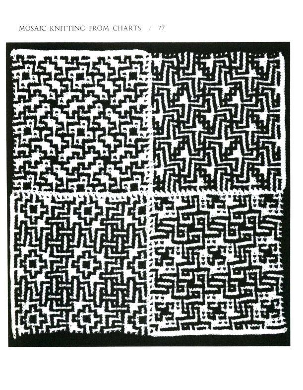 Mosaic Knitting Barbara G. Walker (Lenivii gakkard) Mosaic Knitting Barbara G. Walker (Lenivii gakkard) #82