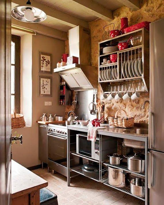 Ideias para a organização da cozinha