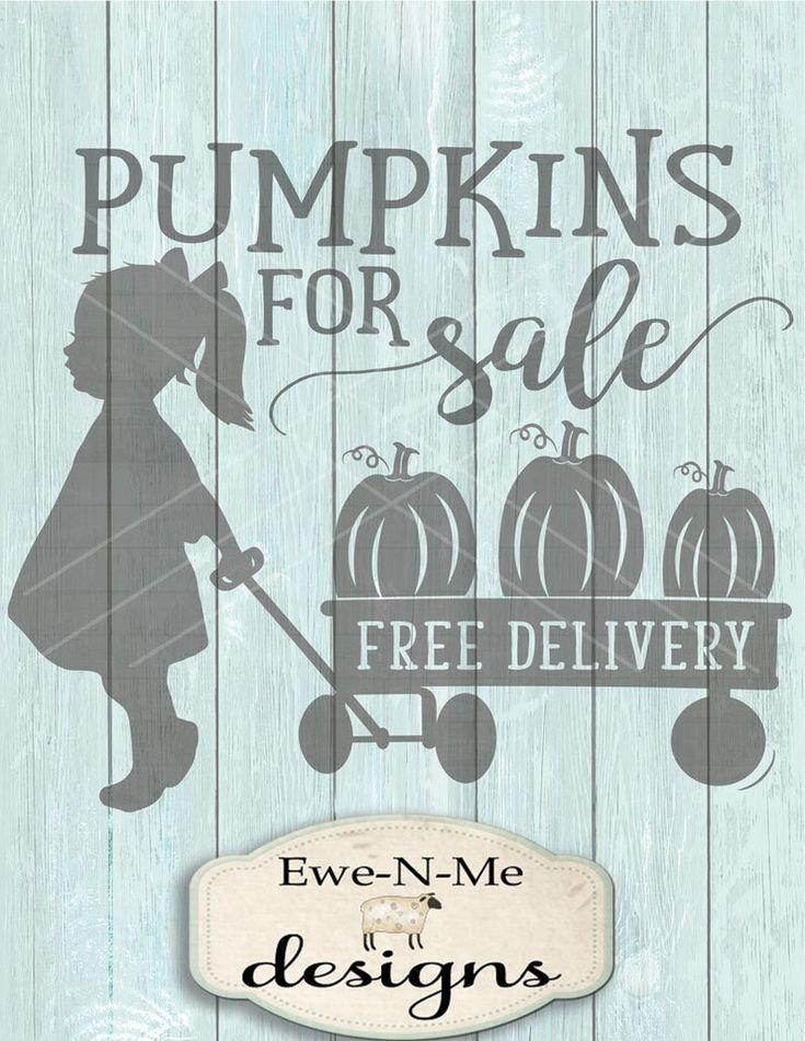 Pumpkin SVG Pumpkins For Sale svg Girl wagon svg Fall