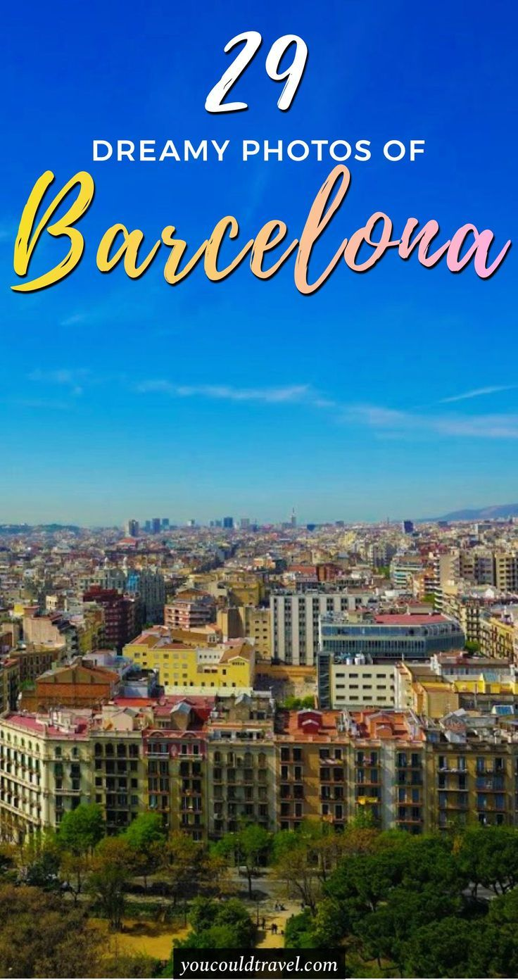 29 pictures to inspire you to visit Barcelona - Everyone wants to visit Spain but here are 29 pictures to inspire you to visit Barcelona as soon as possible. Are you ready to pack yet? You will be after enjoying these pictures of Barcelona. #photography #barcelona