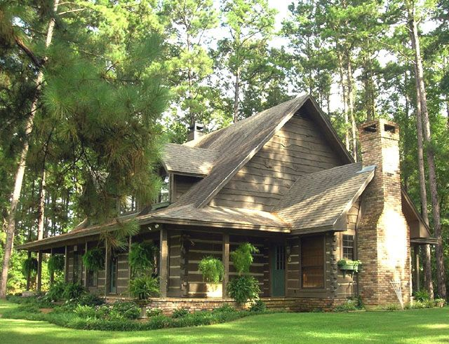 Appalachian Log Homes - Log Home For Sale, Pictures and Log Building Photos - Boyett, TX