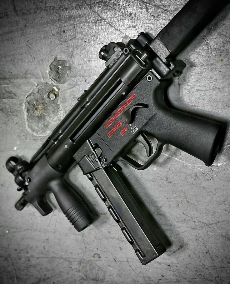 391 Best Images About Guns(HK SMG's) On Pinterest