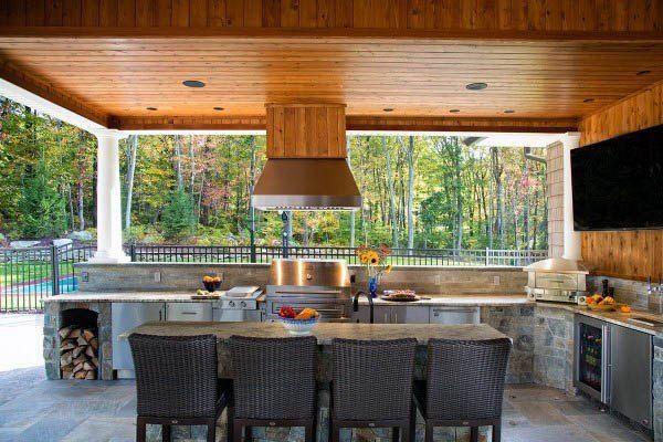 Top 60 Besten Outdoor Küche Ideen Küchenchef Inspiriert Hinterhof Designs Deutsch Style Outdoor Kitchen Design Outdoor Kitchen Outdoor Kitchen Countertops