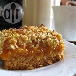 Gluten Free Rustic Apricot Slice @ allrecipes.com.au