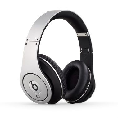 Beats Headphones - Studio Silver / Beats by Dr. Dre. Would be awesome if I didn't break headphones so easily.