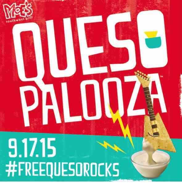 FREE Queso At Moe's Southwest Grill Tomorrow 9/17!