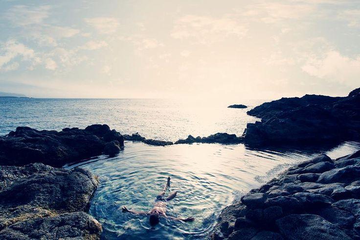 Piscina natural, spa ecológico / natural seawater pool, ecological spa / Naturschwimmbecken, Öko-Pool