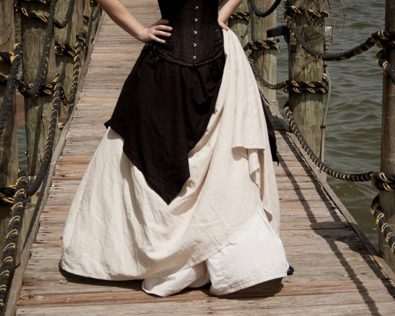 Hey, I found this really awesome Etsy listing at http://www.etsy.com/listing/159194973/natural-linen-long-renaissance-skirt