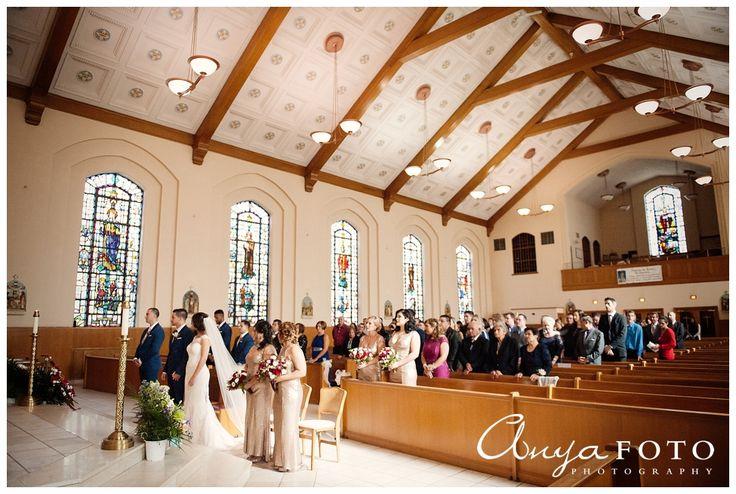 Wedding Ceremony Church Decorations AnyaFoto | Wedding Photography NJ