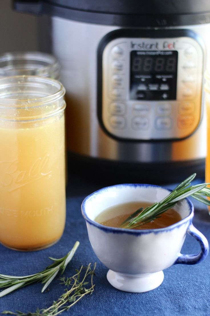 Instant Pot Bone Broth (AIP)