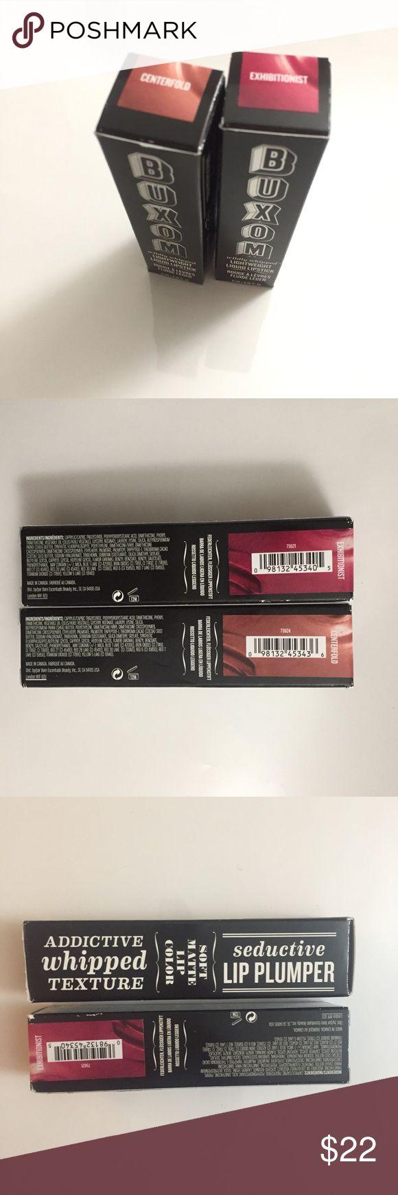 Selling this 2 Buxom lip plumper matte Centerfold Exhibitionist on Poshmark! My username is: funazdailydeals. #shopmycloset #poshmark #fashion #shopping #style #forsale #Buxom #Other