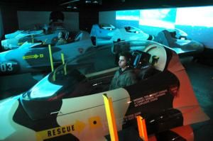 Orange County attractions and things to do in or near Anaheim, CA within half an hour of Disneyland California: Flight Deck Air Combat Center