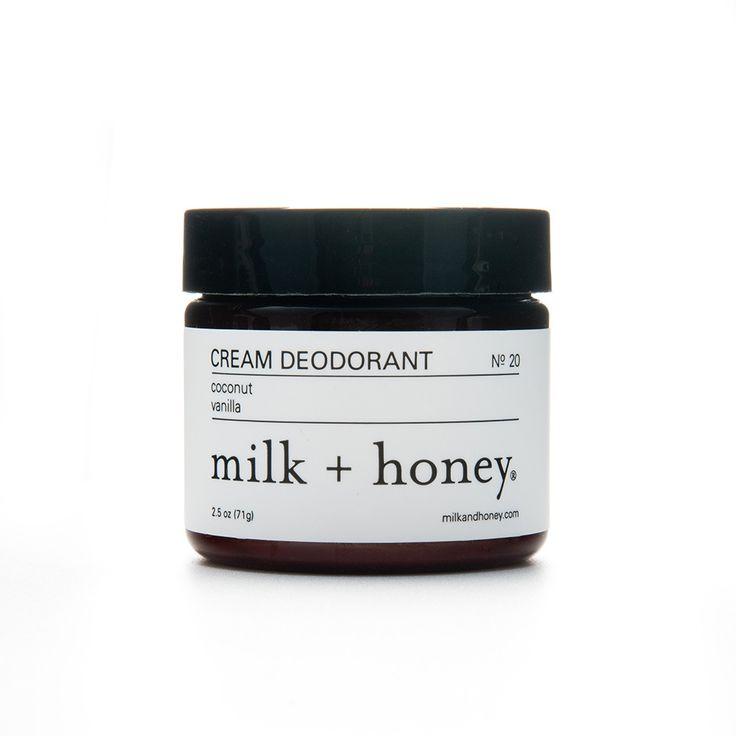 milk   honey - Cream Deodorant, $16.00 (http://shop.milkandhoneyspa.com/cream-deodorant/)