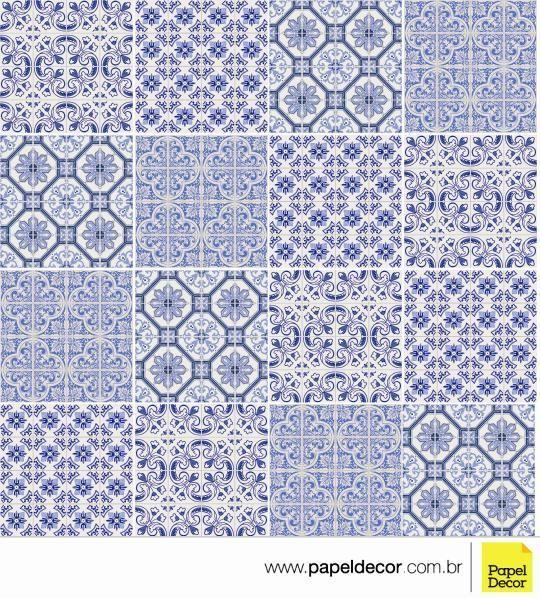 Adesivo Azulejo Portugues