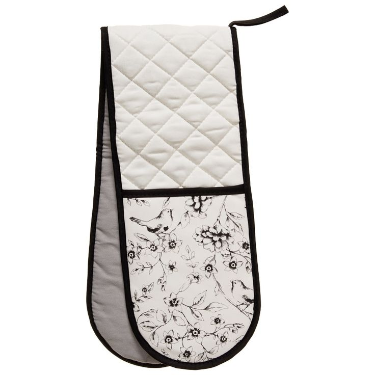 George Wilkinson Contemporary Double Oven Glove - Elisa Birds. Make sure you can take out your home cooked meals with these modern print double oven gloves