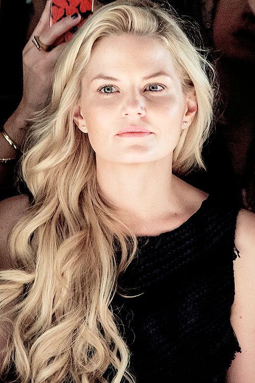 Jennifer Morrison at Mara Hoffman Fashion Show in New York
