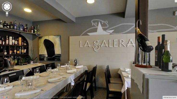 Realización de visitas virtuales para el Restaurante la Galera - Port Cambrils, un restaurante de Cambrils donde disfrutar la cocina mediterránea.