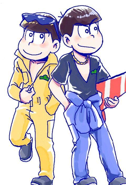 Karamatsu y Jyushimatsu KaraJyushi/JyushiKara Osomatsu-San