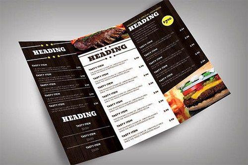 Cartas de Restaurantes: Diseños, Ideas, Ejemplos y Plantillas Gratis de Menús Originales
